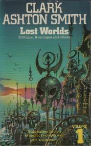 Framsidan på Lost Worlds